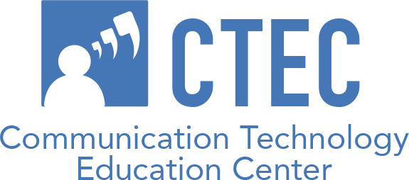 Logo of Communication Technology Education Center (CTEC).